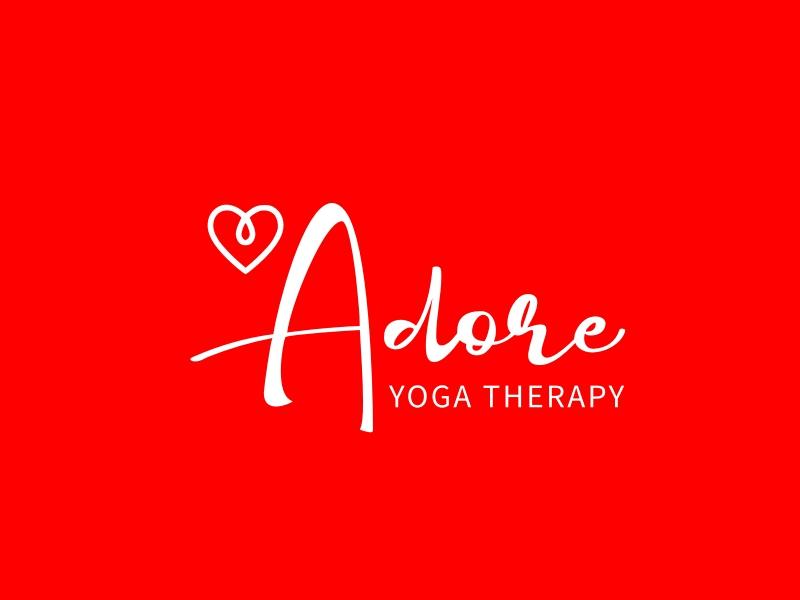 Adore logo design