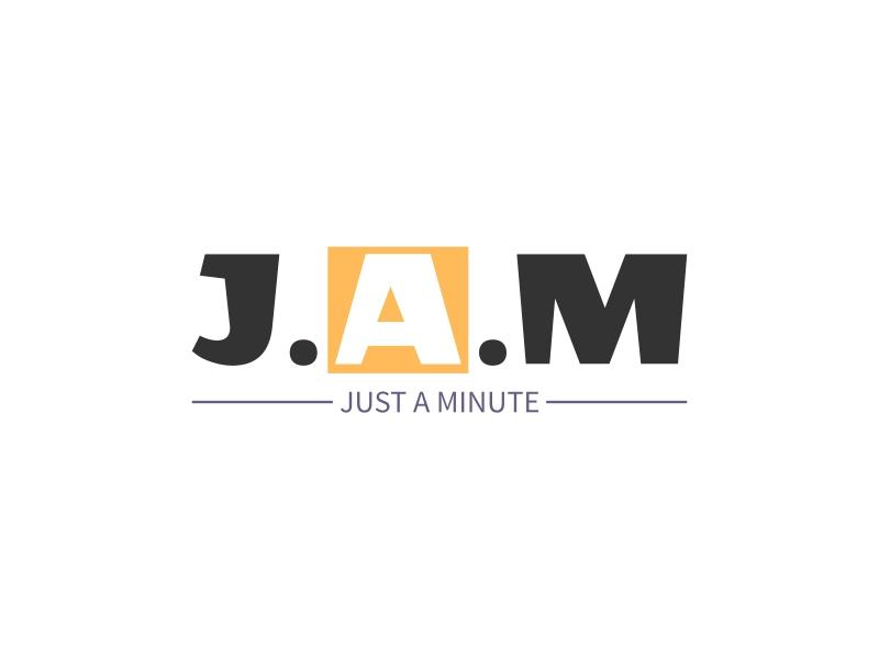 J.A.M logo design