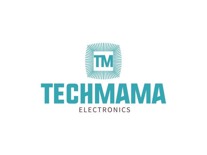 techmama logo design
