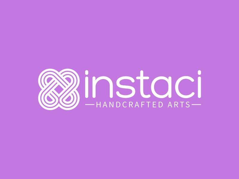 instaci logo design