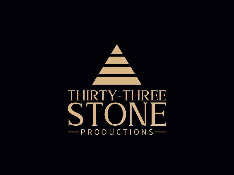 Thirty-Three Stone logo design