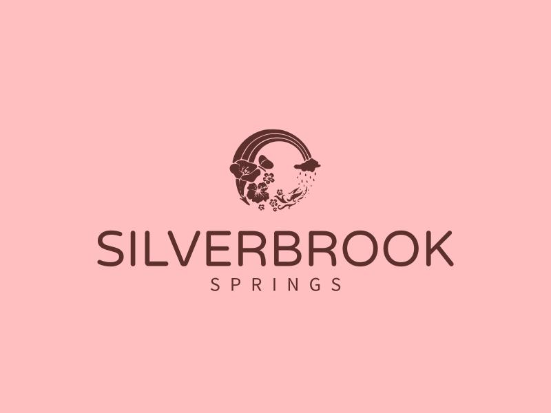 SILVERBROOK logo design