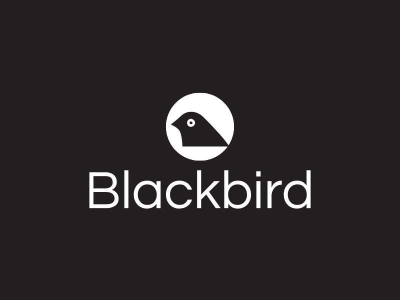 Blackbird logo design