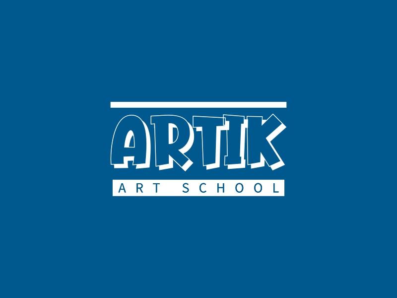 ARTIK logo design