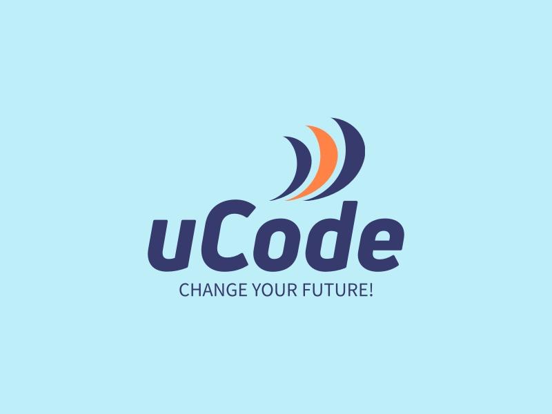 uCode logo design