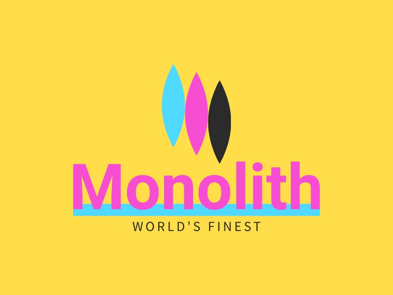 Monolith logo design