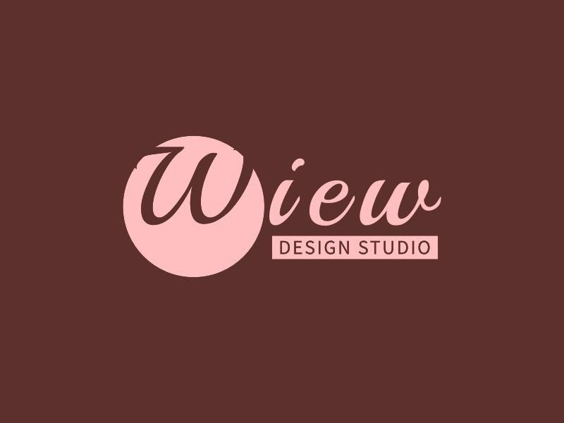 Wiew logo design