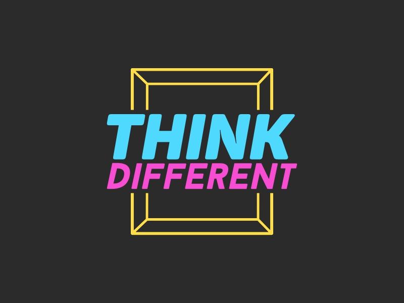 Think Different logo design