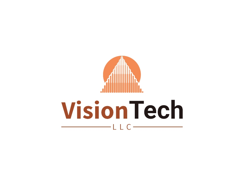 Vision Tech logo design