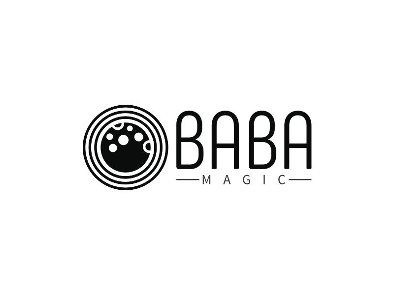 BABA logo design