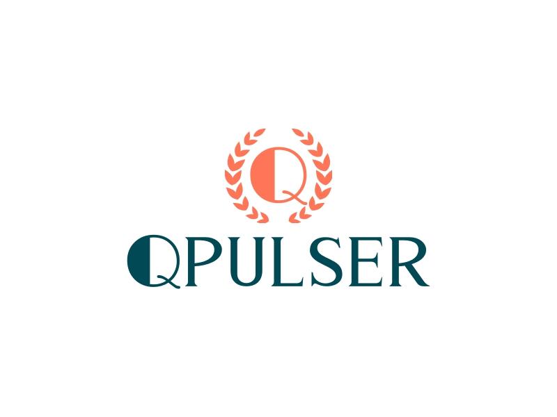 Q PULSER logo design