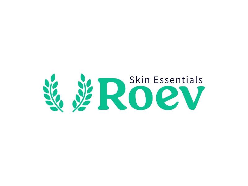 Roev logo design