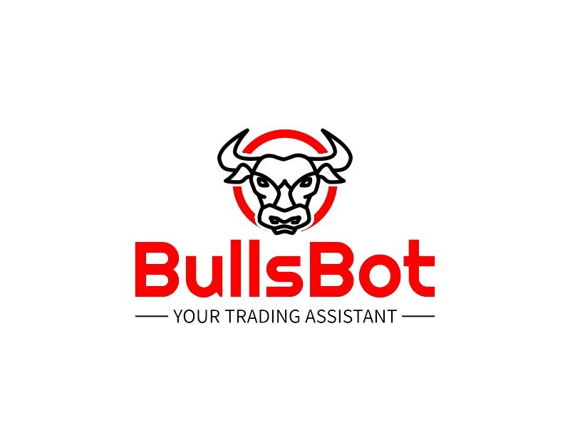 BullsBot logo design