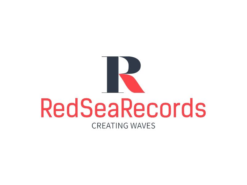RedSeaRecords logo design