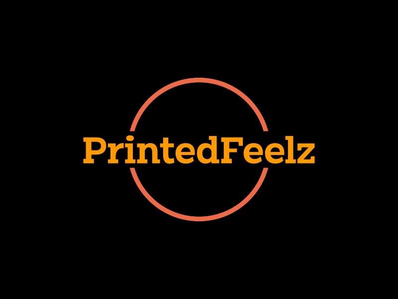 PrintedFeelz logo design