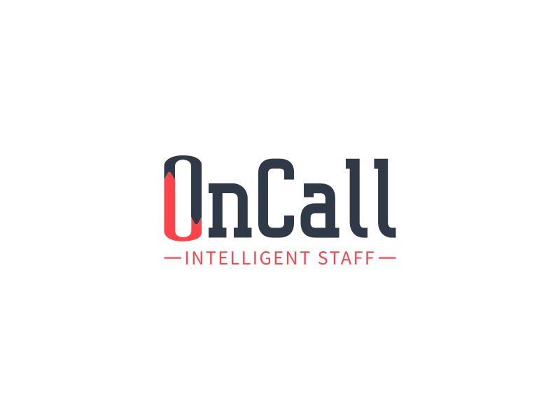 OnCall logo design