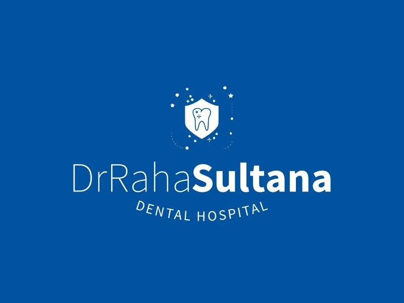 DrRaha Sultana logo design