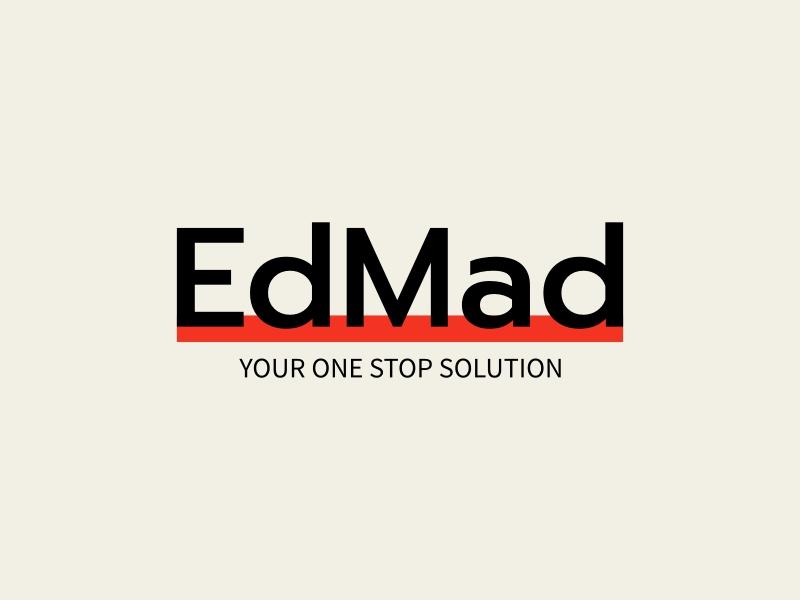 EdMad logo design