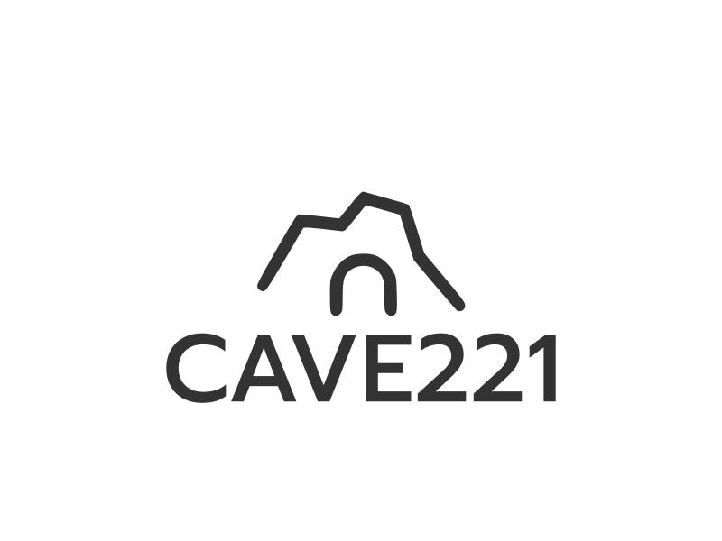 CAVE221 logo design