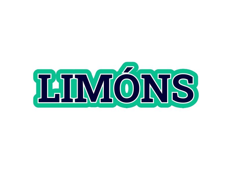 LIMÓNS logo design