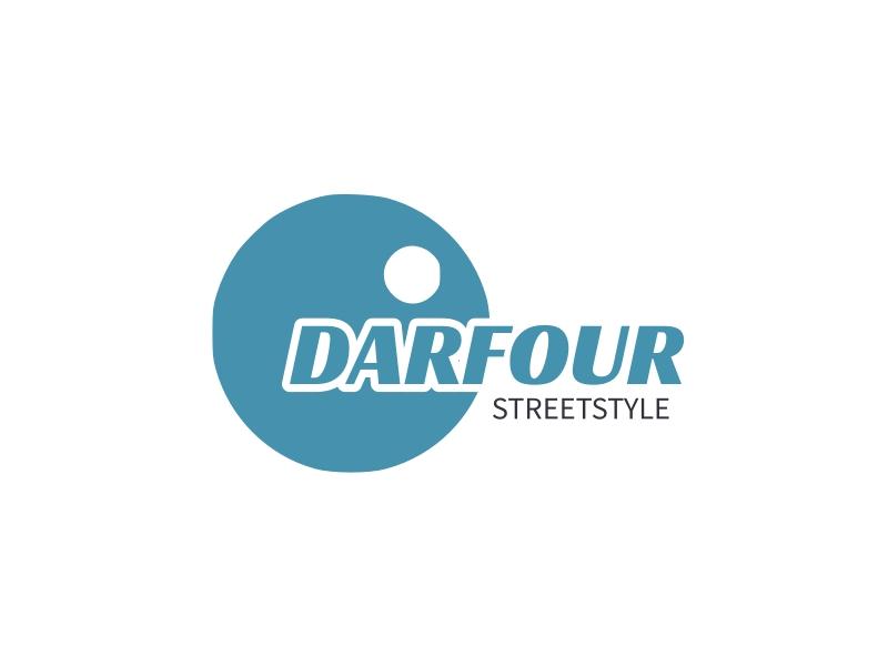 DARFOUR logo design