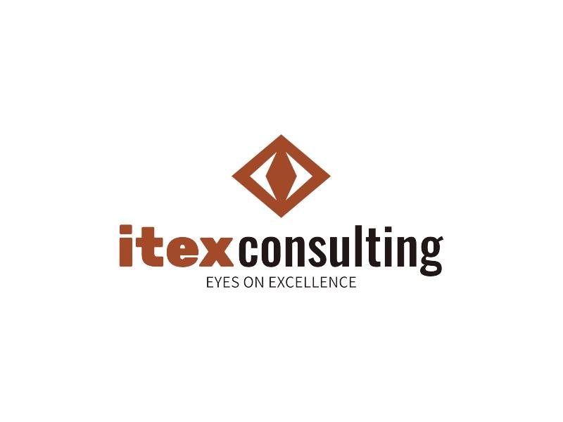 itex consulting logo design