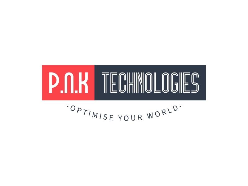 P.N.K TECHNOLOGIES logo design