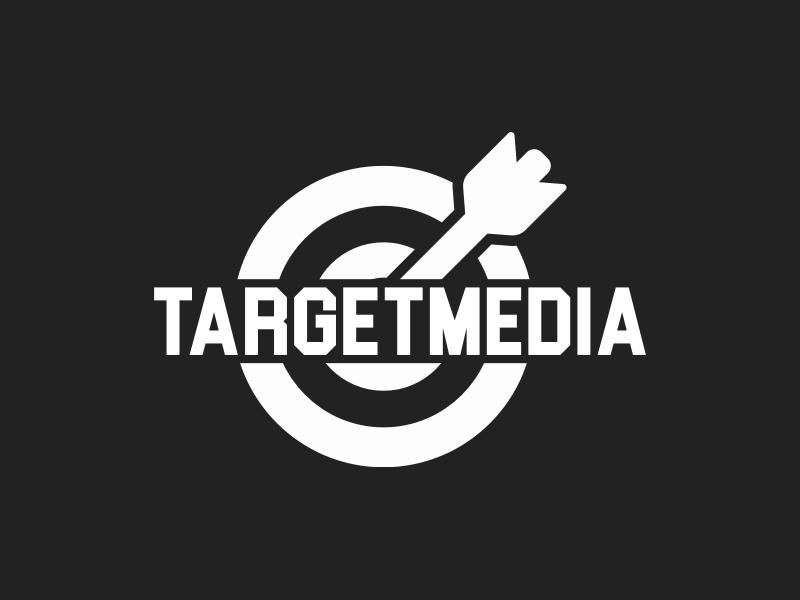 TargetMedia logo design