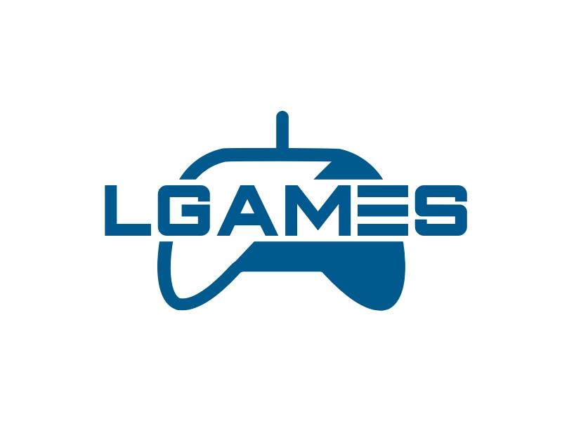 LGAMES logo design