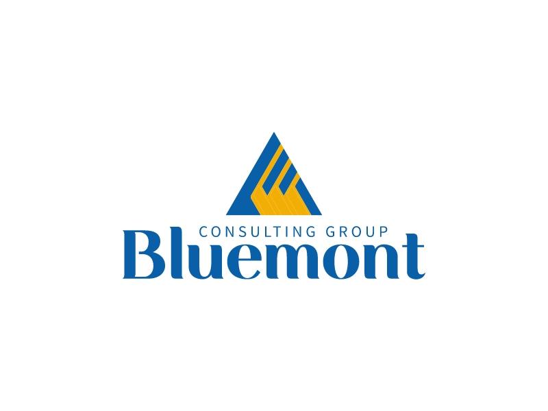 Bluemont logo design