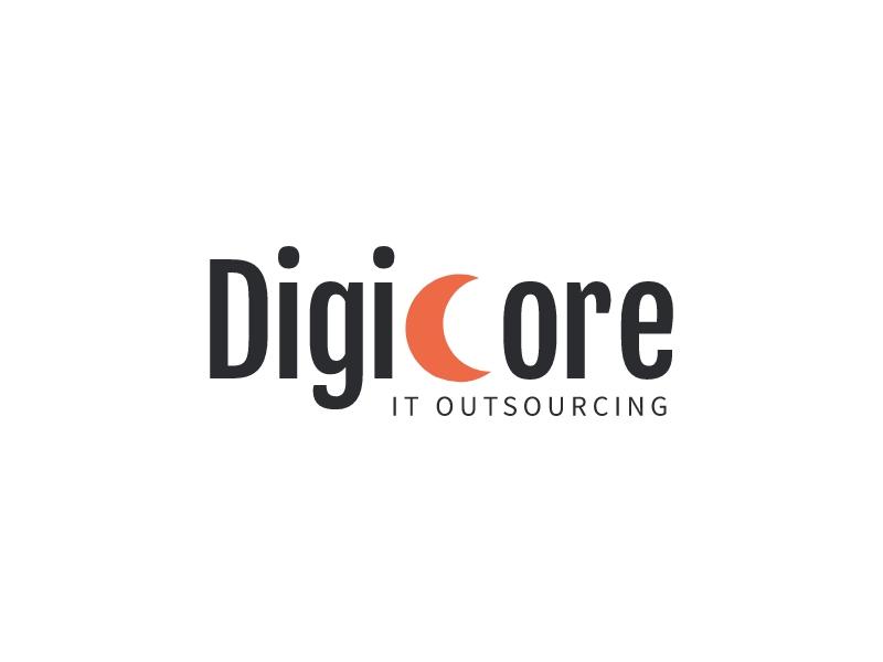 DigiCore logo design