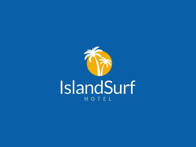 IslandSurf logo design