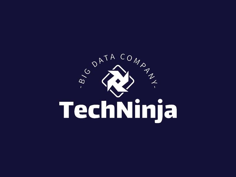 TechNinja logo design