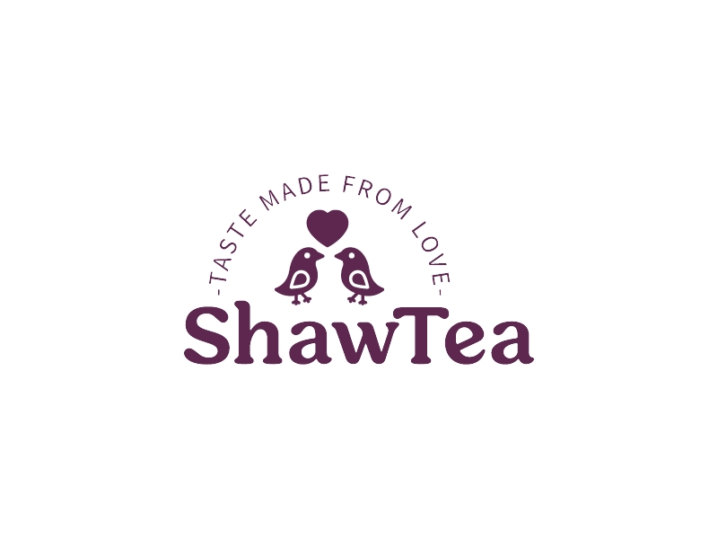 ShawTea logo design