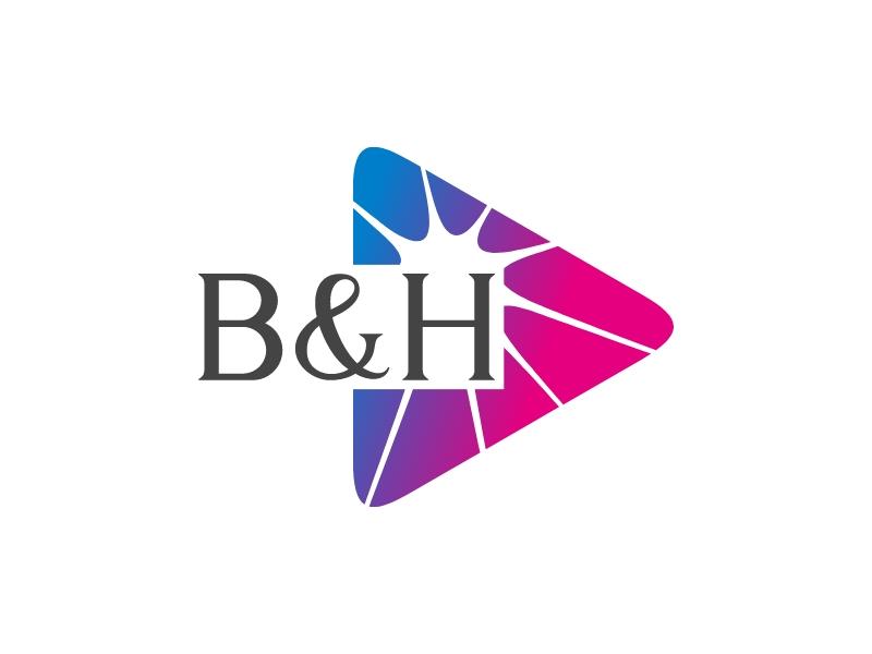B&H logo design
