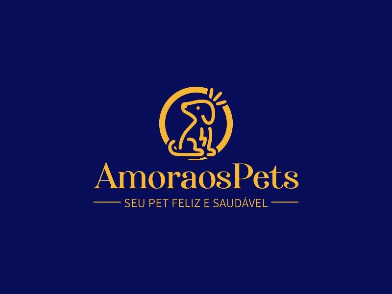 AmoraosPets logo design
