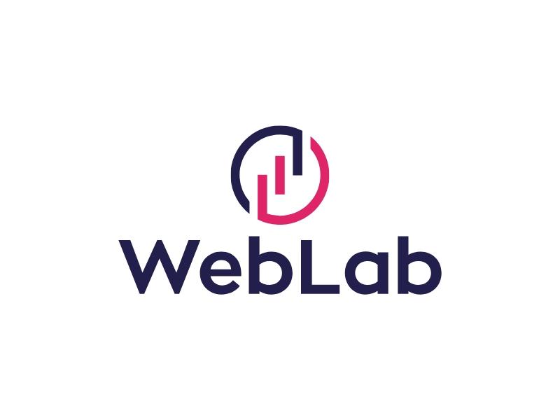 WebLab logo design