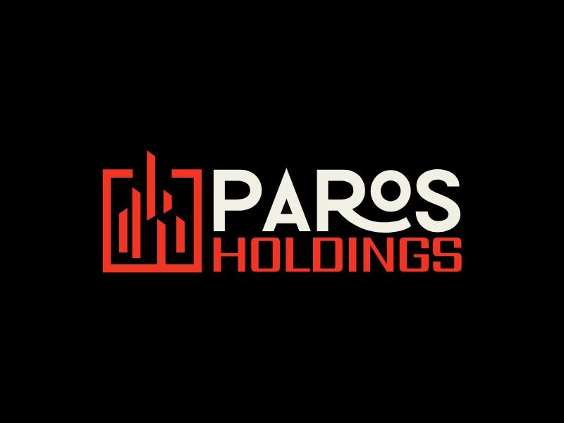 PAROS HOLDINGS logo design