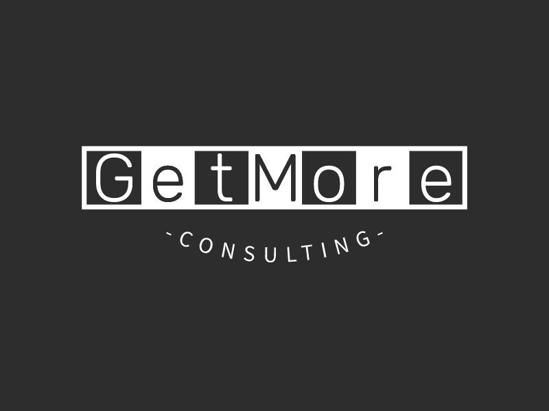 GetMore logo design