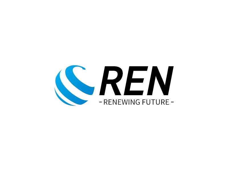 REN logo design