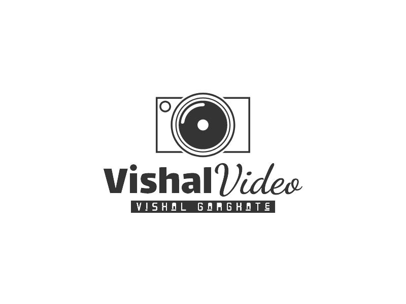 Vishal Video logo design