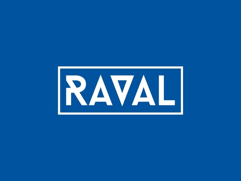 RAVAL logo design