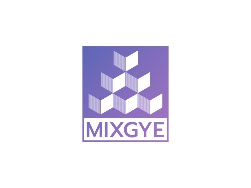 MIXGYE logo design