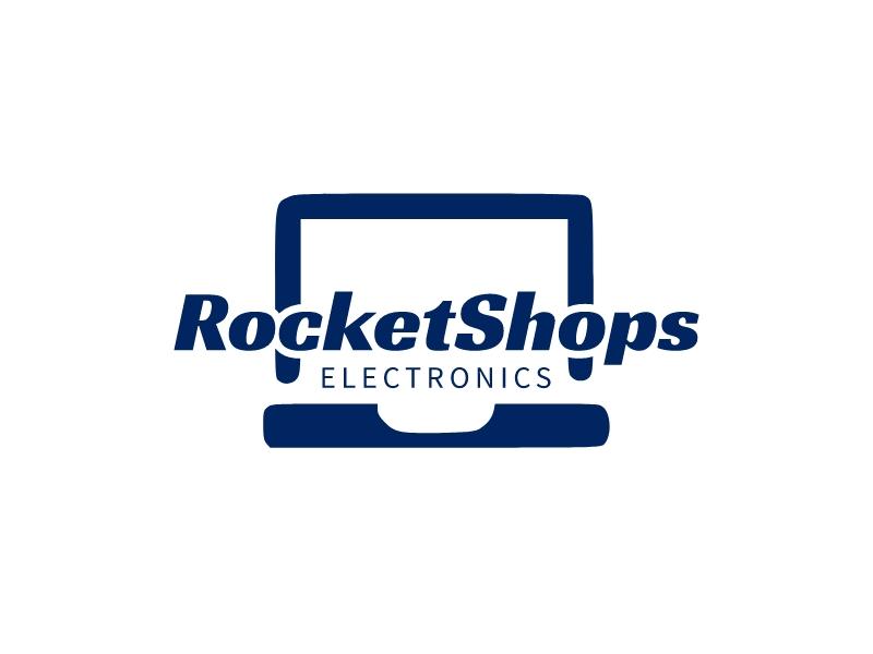 RocketShops logo design