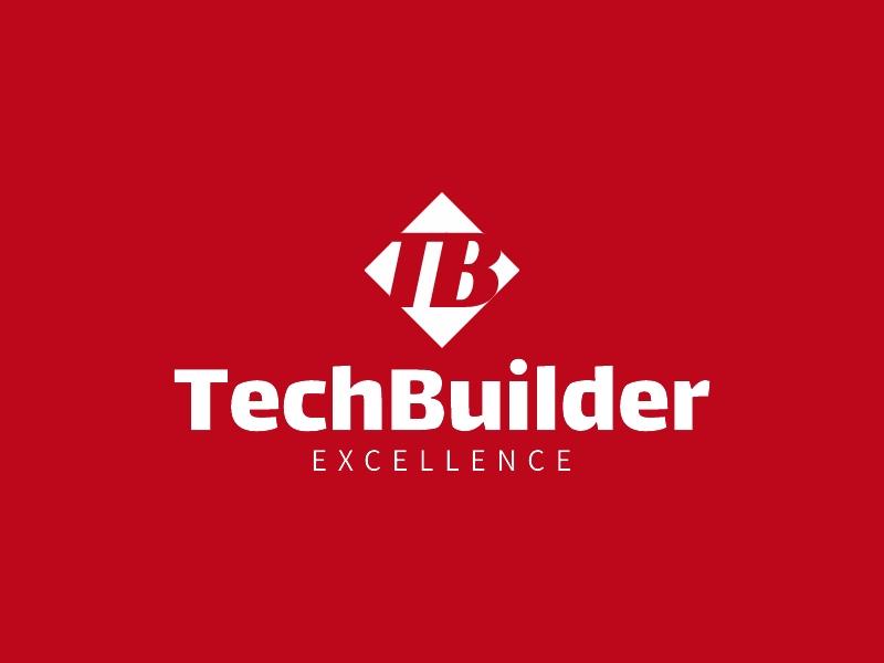 TechBuilder logo design