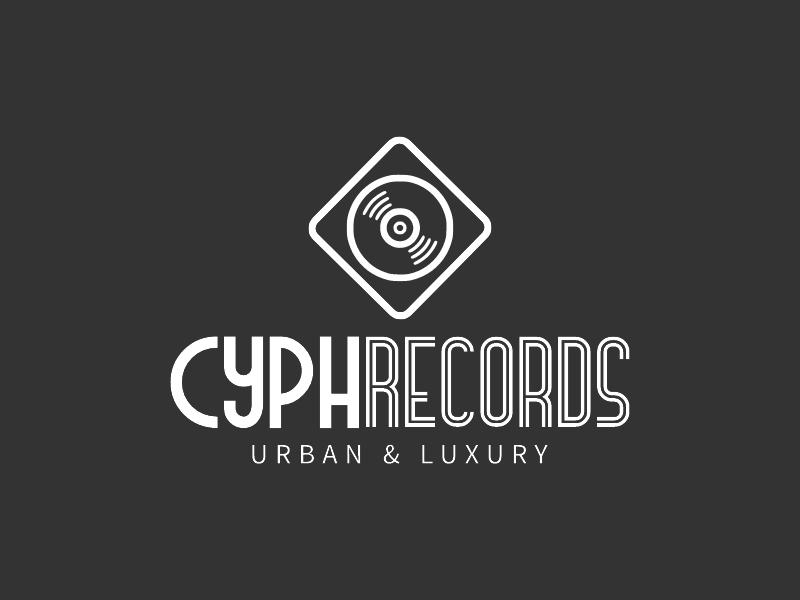 Cyph Records logo design