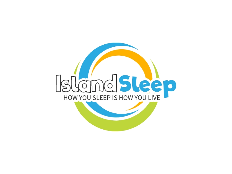 Island Sleep logo design