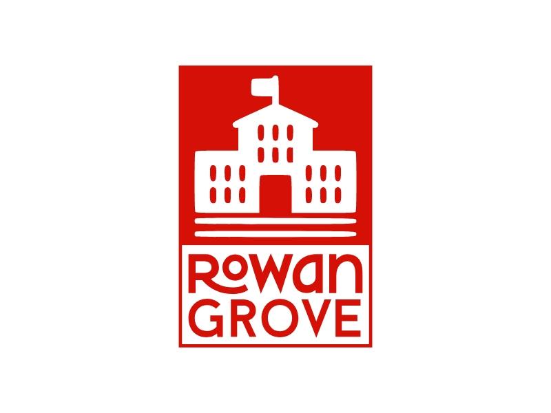 Rowan Grove logo design
