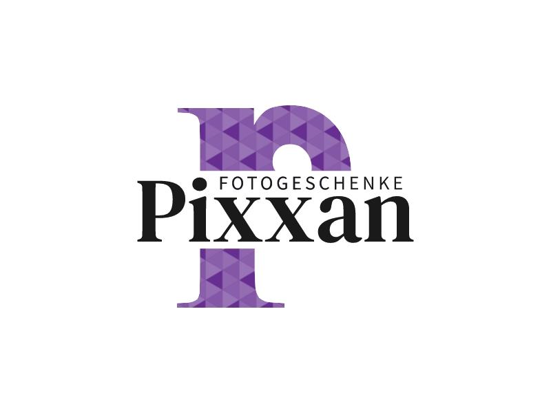 Pixxan logo design
