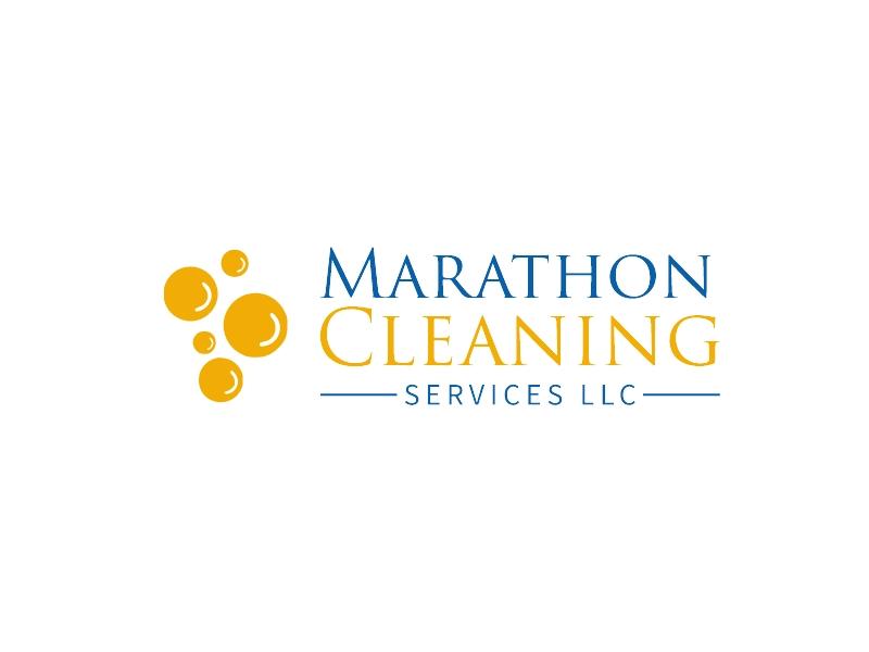 Marathon Cleaning logo design